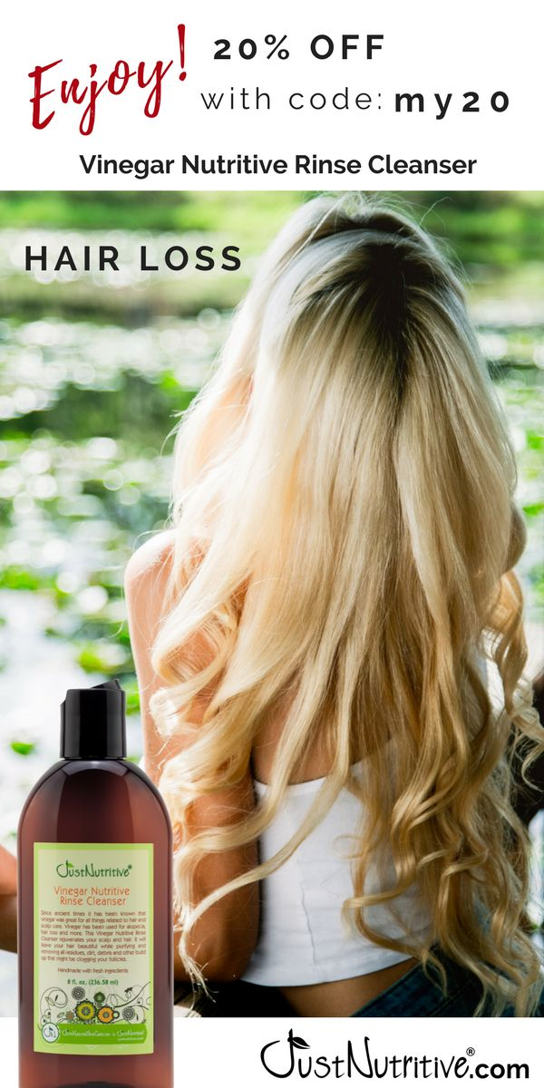 If your hair has lost the volume, shine or radiance it once had or even if you are experiencing an increase in loss, this Vinegar Nutritive Rinse Cleanser is for you.