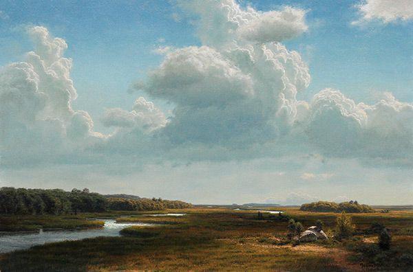 Joseph Mcgurl Paintings Land And Sky Painters I Love