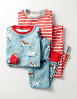 Twin Pack Cosy Long Johns Boden