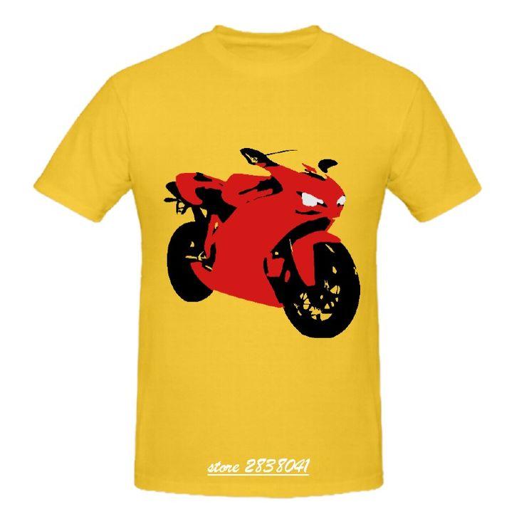 RTTMALL 2017 Automotive Vehicle Tees Round Neck Ducati 848 1098 Hot Topic Camisa De Basquete Guys T-shirt Big Sale Men Teeshirts #Affiliate
