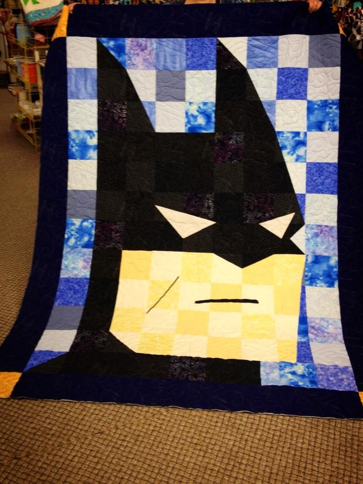 Awesome quilt courtesy of Missouri Star Quilt Company