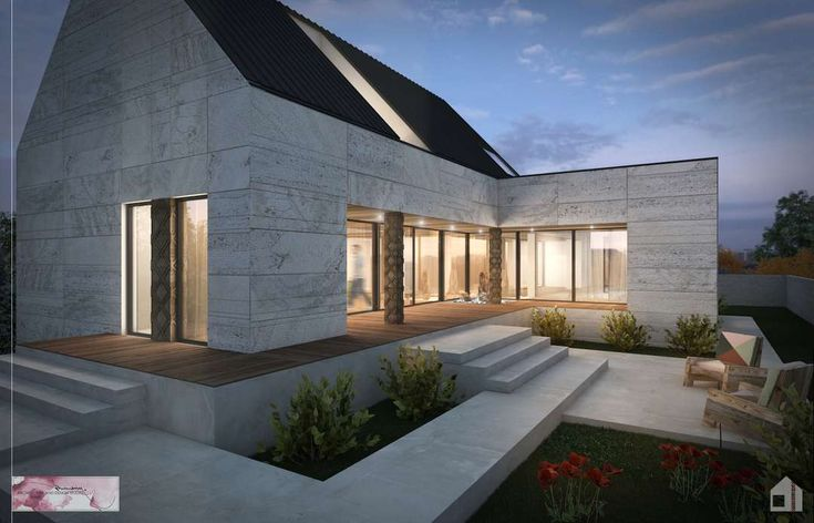 Roof Design Ideas: Look At How They Are Getting Daylight Into The Main Space