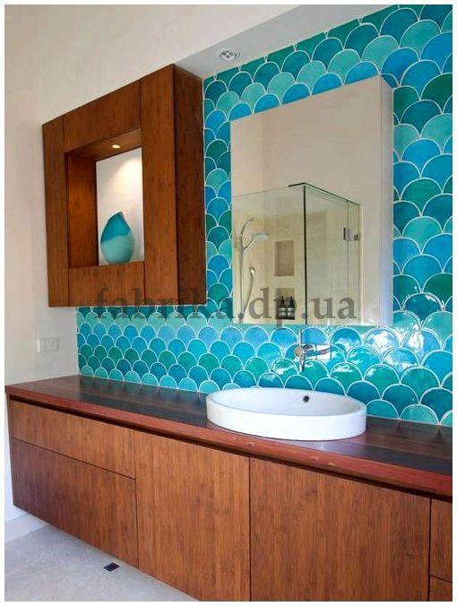 Бирюзовая ванная комната – это необычно!  - рекомендации прораба (бирюзовый, ванная, комната, необычный)