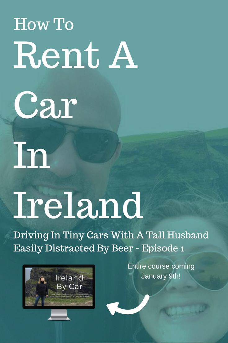 This is a story of a girl who was five foot nothing and a boy, who was six foot three and how they rented a car in the city centre of Dublin, Ireland. It's not an easy story, it might give you the same anxiety my husband had, it might make you feel sad for the boy, squeezing himself into the tiny ca