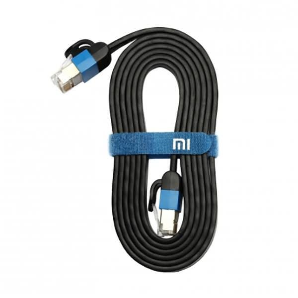 Xiaomi Ethernet Cable Cat 6 RJ45 1000Mbps 24K Gilded Premium 3M Intended for Wired Home and Office Networks The Xiaomi Cat 6 Flat Cable offers universal connectivity to computers and network components, such as routers, switch boxes, network printers, network attached storage (NAS) devices, VoIP...