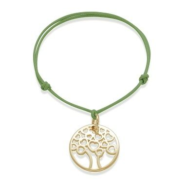 Wear the Love Tree by Lilou as a bracelet! This new model is available in 925 silver and 23k gold-plated! #lilou #tree #love #bracelet #silver #goldplated