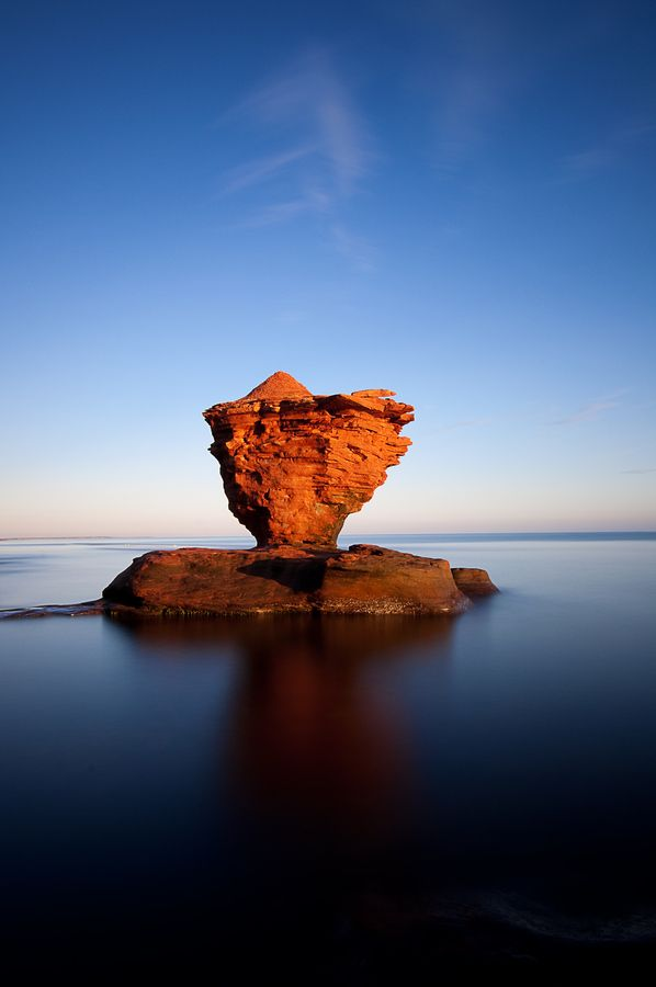 Tea Cup Rock, Prince Edward Island, Canada I have been there would love to go again!!