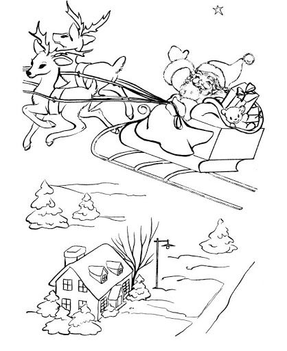 Coloring Pages: Christmas