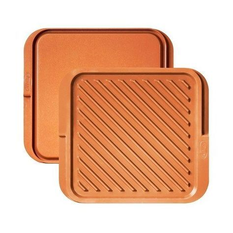 Gotham Steel Double Sided Griddle and Grill Pan - Domestify