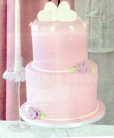 Wedding in pink - by Sofia Costa (Cakes & Cookies by Sofia Costa) @ CakesDecor.com - cake decorating website