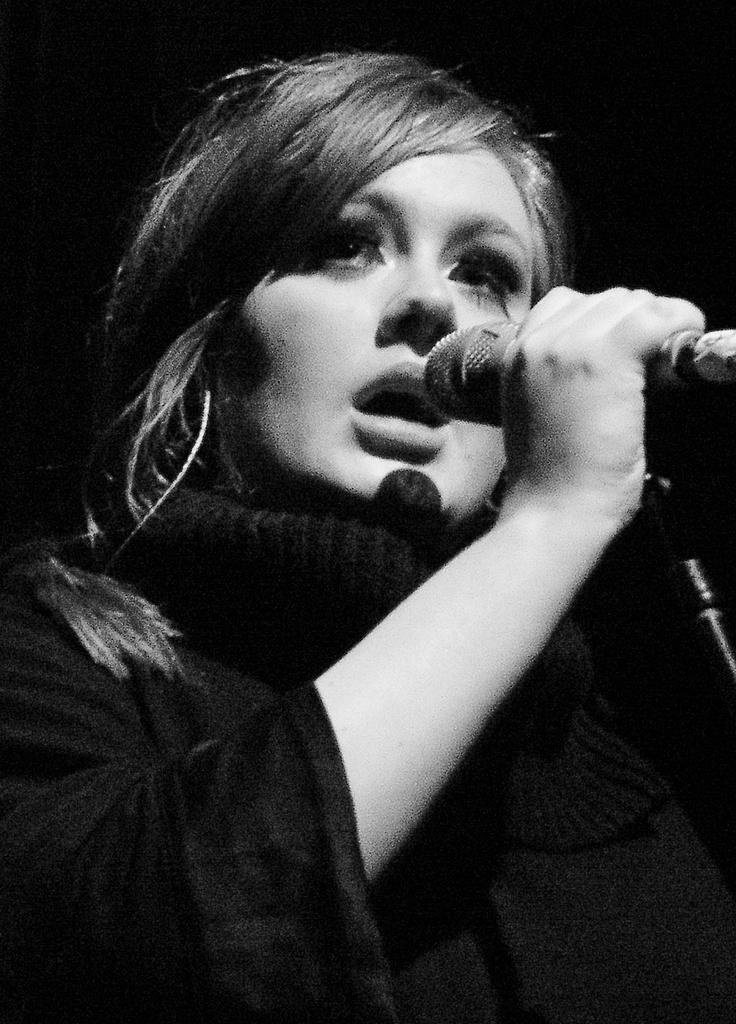 ADELE...I love her voice!