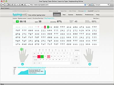 Learn to Type | Teach Typing | Free Typing Tutor and Typing Lessons