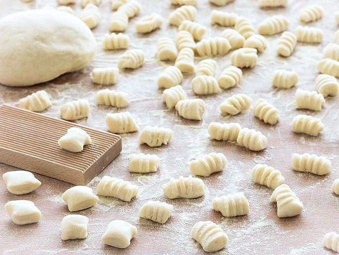 Making gnocchi from scratch is much less complicated than it seems. You only need 2 ingredients: potatoes and flour- aseasyasapplepie.com