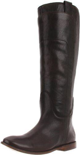 FRYE Women's Paige Tall Riding Boot, Dark Brown Calf Shine, 7 M US FRYE http://smile.amazon.com/dp/B000WQ6W18/ref=cm_sw_r_pi_dp_4XU1wb0HNASZA