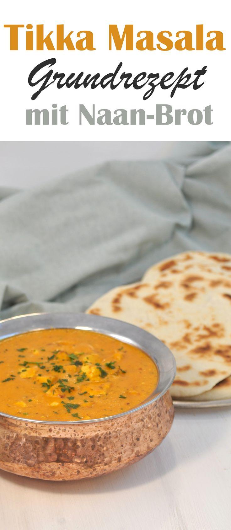 Tikka Masala Grundrezept für Paneer, vegan mit Tofu oder Chicken Tikka Masala aus dem Thermomix