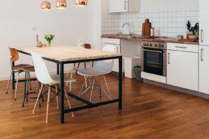Wooden Kitchen Flooring Ideas