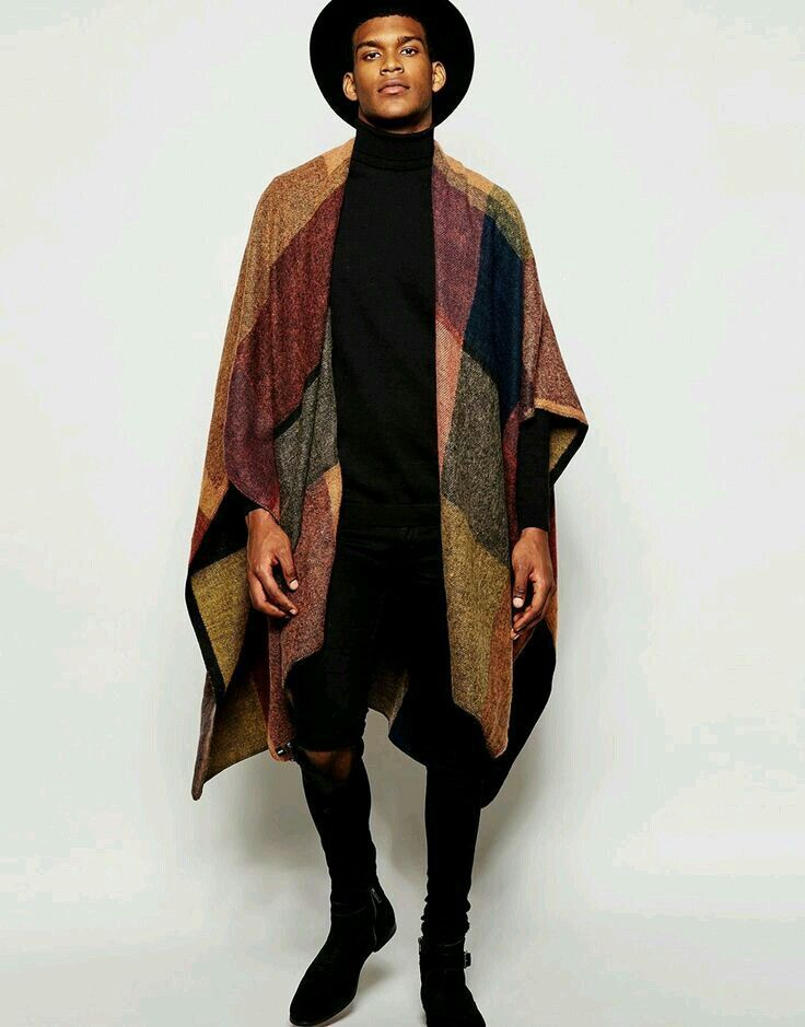 Colour Block Cape                                                                                                                                                                                 More