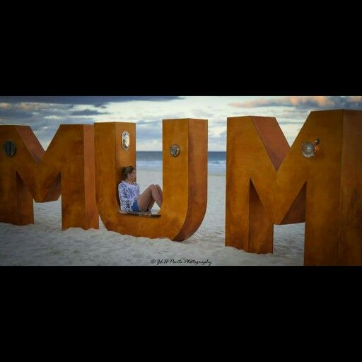 MUM, Swell sculpture festival, Currumbin beach