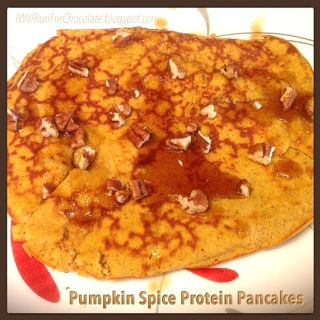 ... simplifying diet and fitness. : Perfect Pumpkin Spice Protein Pancakes