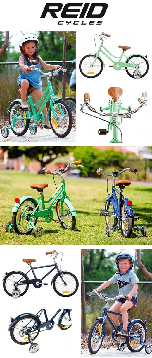 This summer, kids around Australia will create lasting memories on the new range of quality Reid Cycles Vintage style kids bikes.  The Reid Cycles adults vint