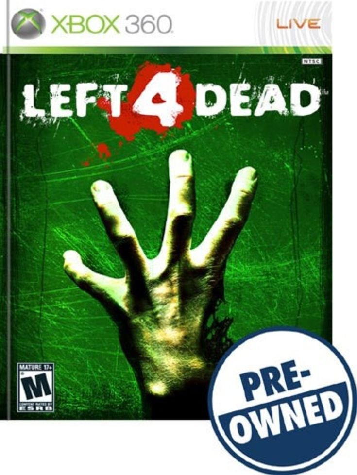 Left 4 Dead — PRE-Owned - Xbox 360, 7339