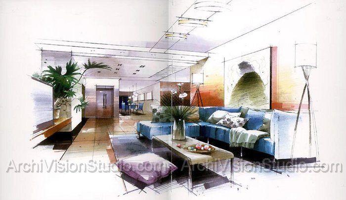 interior frosted glass doors interior visualization render ng pinterest innenr ume. Black Bedroom Furniture Sets. Home Design Ideas