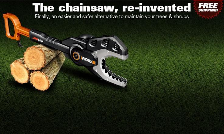 Chainsaw for Mike to cut tree limbs: 01 Jaw, Jawsaw Chainsaw, Safer Alternative, Sports, Jawsaw Mi, Electric Chainsaw, Cut Trees, Yard Toys, Chainsaw Alternative
