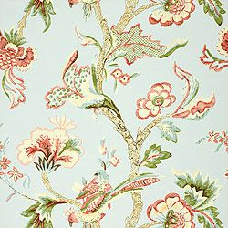 Thibaut Serendipity - Shrewsbury - Wallpaper - Aqua