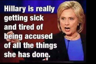 Hillary is really sick and tired . . . | Hillary Clinton