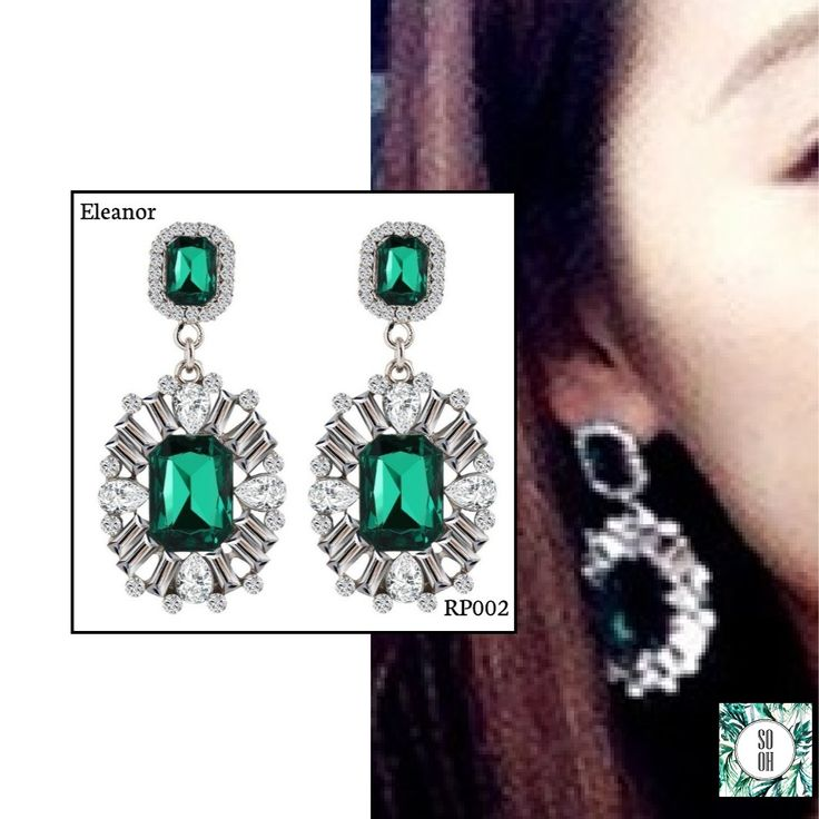 Royal Pair <3 RP002 Eleanor 11.99 🌱 Também em preto, azul, rosa, vermelho e branco. #sooh_store #onlinestore #brincos #earrings #fashion