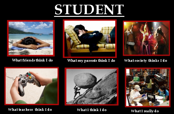 ask your students if they agree with these perceptions