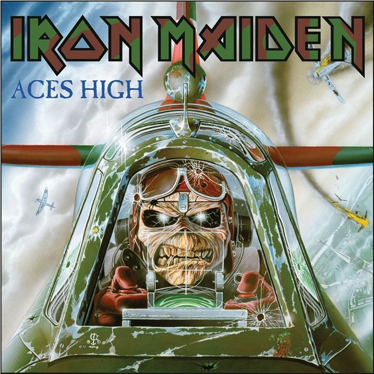 """Iron Maiden - Aces High on Limited Edition 7"""""""