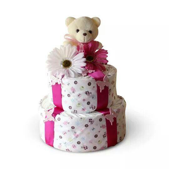 (nappy cake)