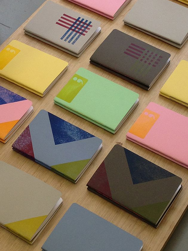 TADA  handcrafted letterpress notebooks, on Creative Journal: a showcase  of inspiring design, art, architecture and photography.