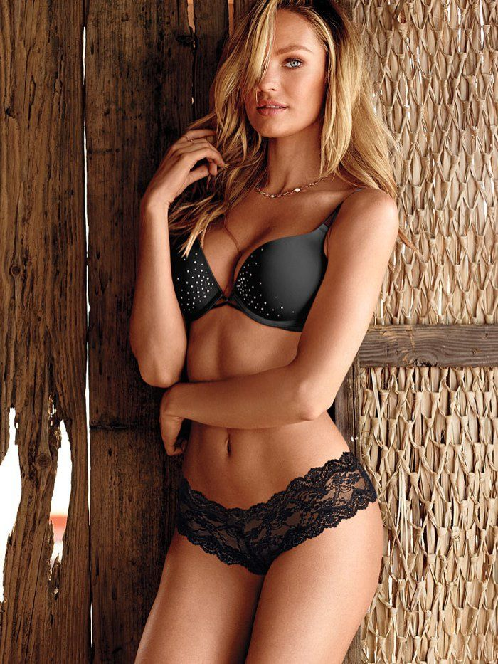 Candice Swanepoel Stuns in Victoria's Secret Lingerie Shoot