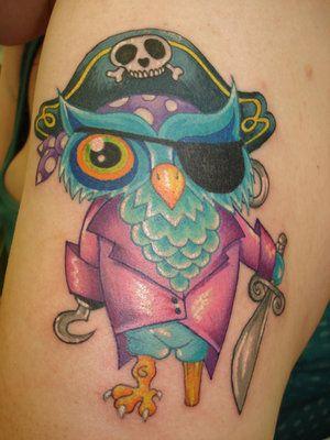 owl tattoos | Kirsten Alyse Chronicles: Owl Tattoos!! Rad!!