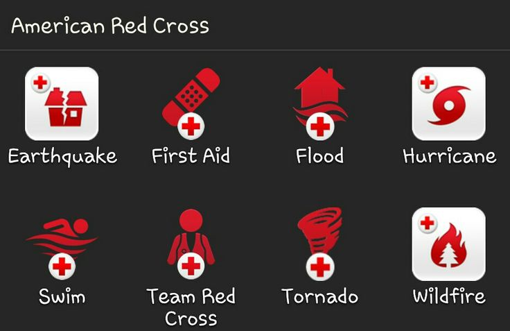 Get Assistance in recovering after a Disaster or Emergency with our FREE Red Cross Mobile Apps, downloadable from theiTunes,Google PlayorAmazon Marketplaceapp stores.