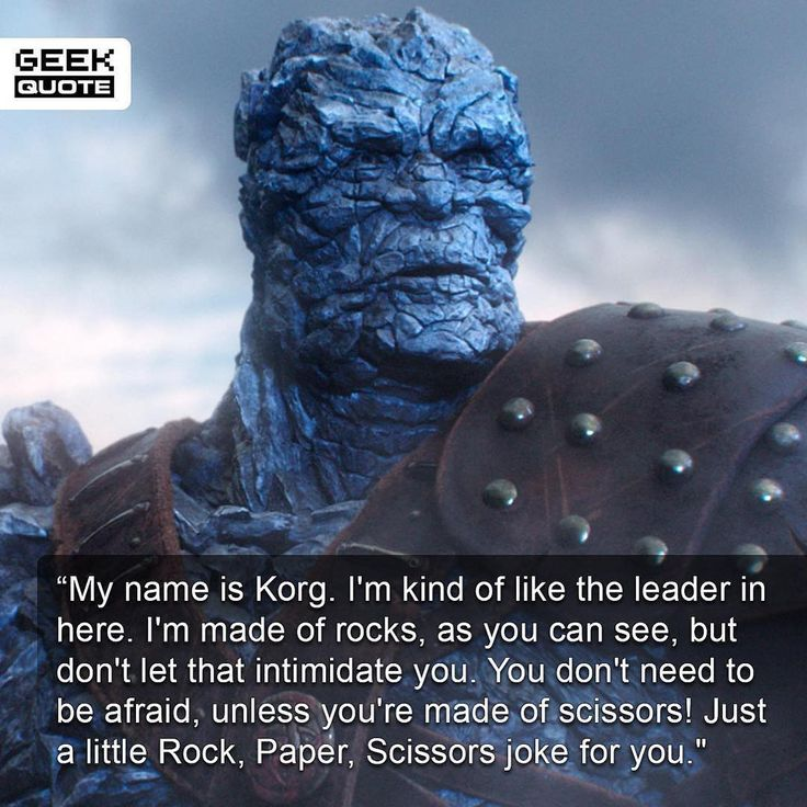 Korg Thor Ragnarok Rock, Paper, Scissors Joke - DigitalEntertainmentReview.com