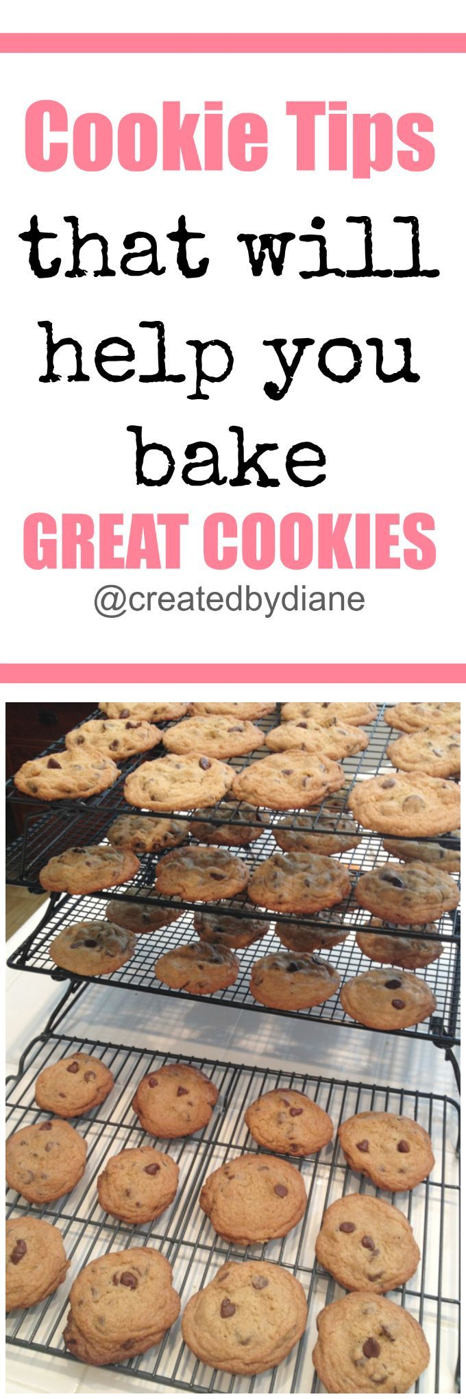 cookie-tips-THIS GUIDE IS FULL OF TIPS on how to bake up the BEST COOKIES-from-www-createdby-diane-com