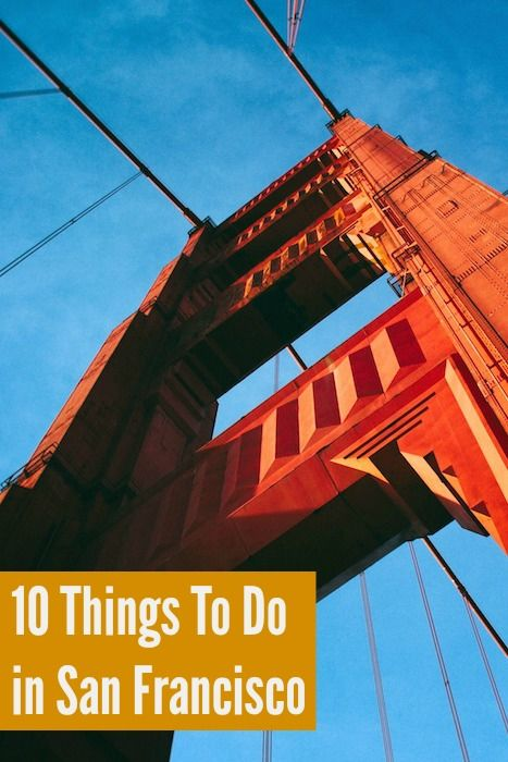 San Francisco is an expensive place! But here are 10 things to do in San Francisco that won't break the bank  #ParkingPanda #travel #roadtrip