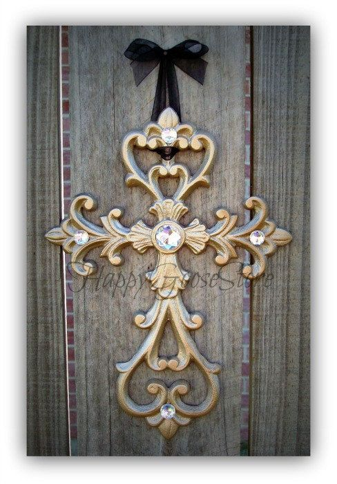 Hey, I found this really awesome Etsy listing at http://www.etsy.com/listing/105769436/iron-rhinestones-wall-hanging-cross