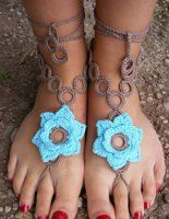 Nice Foot Jewelry For photos, weddings, holidays, dress up, dance, parties, and other special occasions!