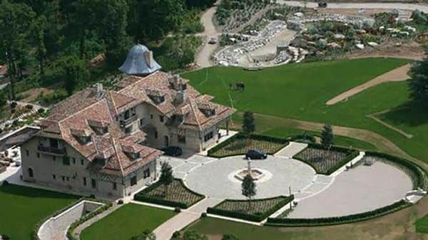 Casa De Michael Schumacher En Suiza Vista Aerea Michael Schumacher Luxury Estate Mansions
