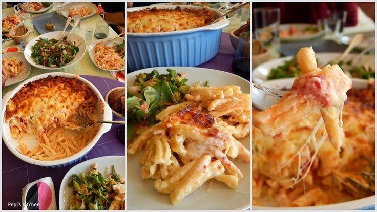 Pepi's kitchen: Σουφλέ μακαρόνια