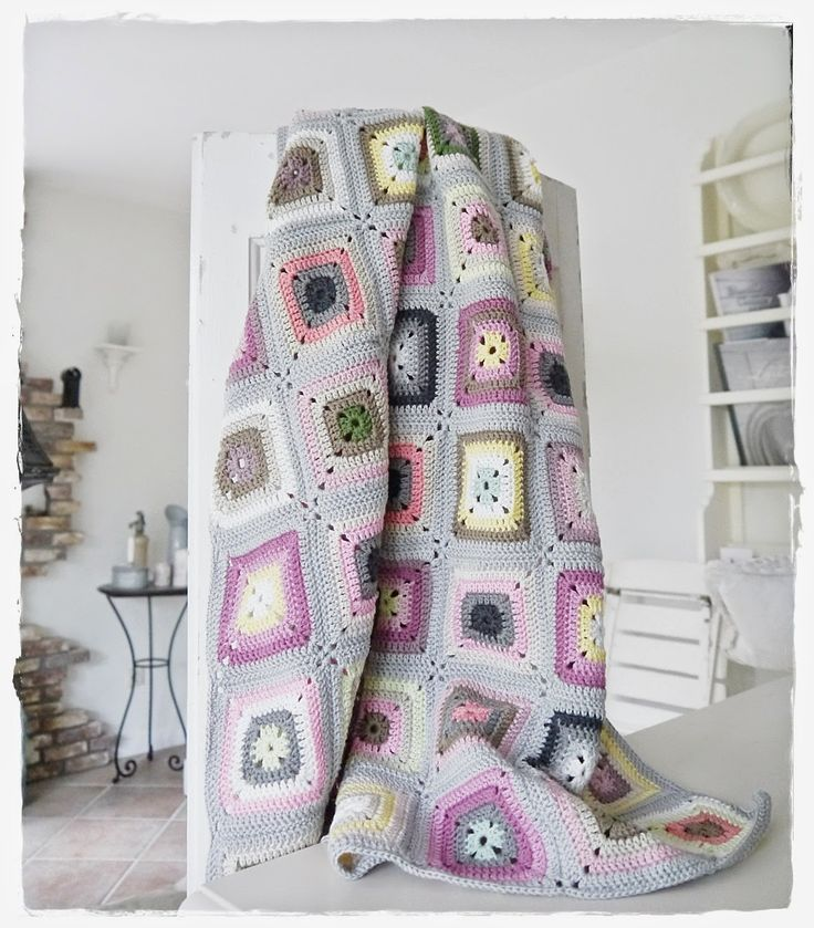 Granny quilts are great starters for the girls