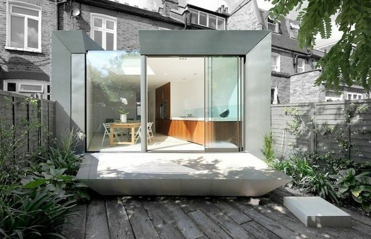Faceted house   an Edwardian Terrace House extension in Hammersmith, London by Paul McAneary Architects