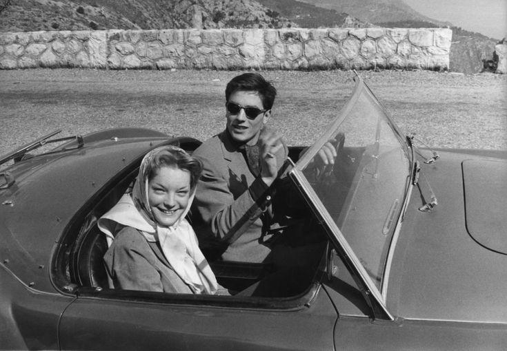 Romy Schneider et Alain Delon, 1960