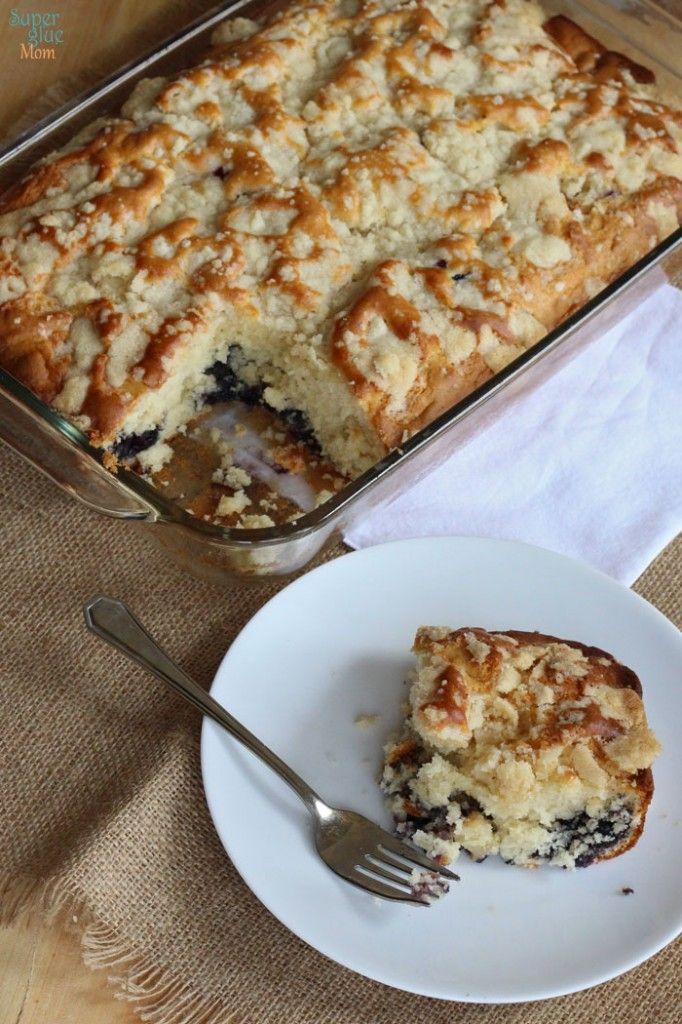Blueberry Coffee Cake Light Recipe -Starbucks Copycat