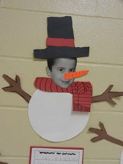 christmas classroom crafts ideas   cute craft for a holiday classroom party!   Preschool Winter Ideas