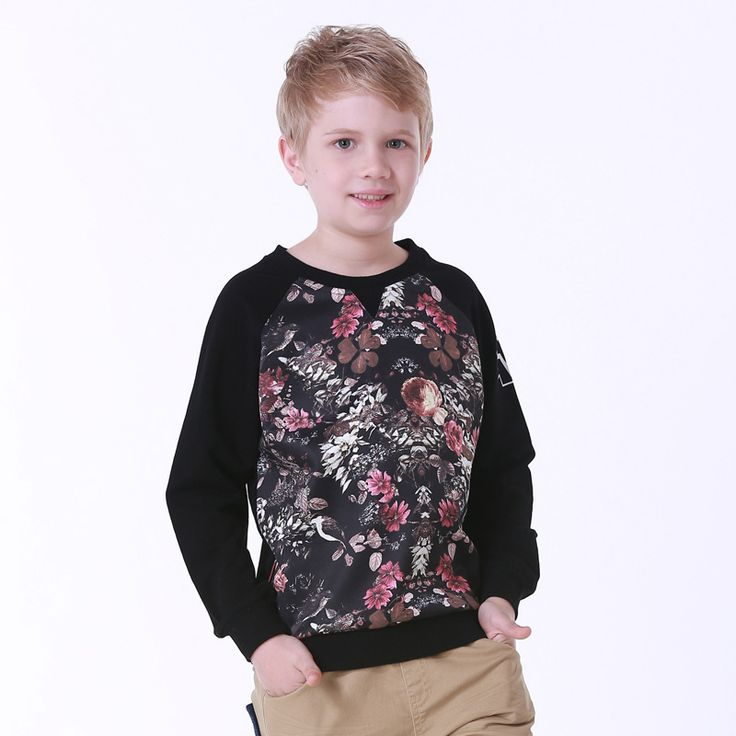 Children's Day 2017 boys and girls long sleeved T-shirt cotton T-shirt children in the middle of the child jacket shirt T-shirt //Price: $25.70 //     ##babyfashion